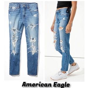 🔥🖤🔥AE Vintage Boyfriend Jeans size 16 NWT'S-$70